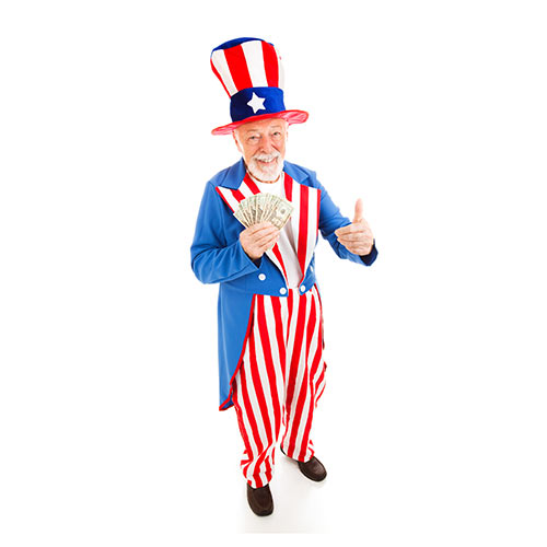 I Love USA answer: UNCLE SAM