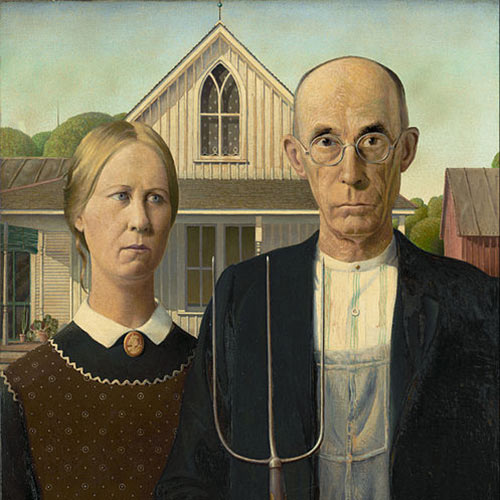 I Love USA answer: AMERICAN GOTHIC