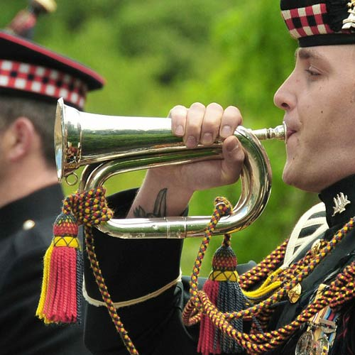 Instruments answer: BUGLE
