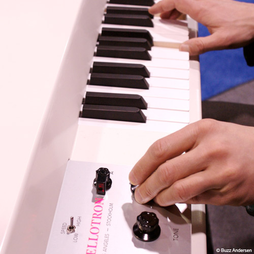 Instruments answer: MELLOTRON