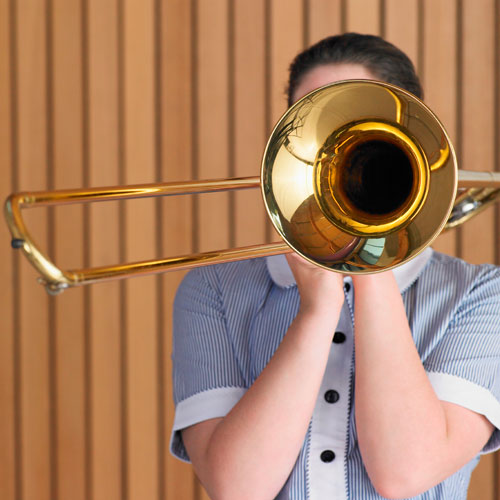 Instruments answer: TROMBONE