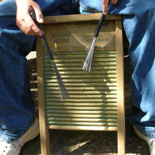 Instruments answer: WASHBOARD