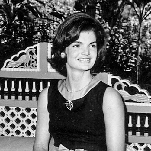 J is for... answer: JACKIE O