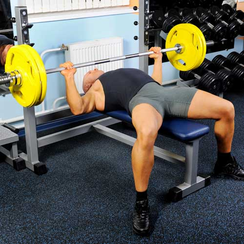 Keep Fit answer: BENCH PRESS