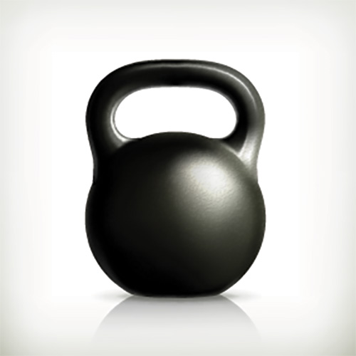 Keep Fit answer: KETTLEBELL