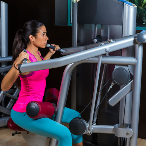 Keep Fit answer: LAT PULLDOWN