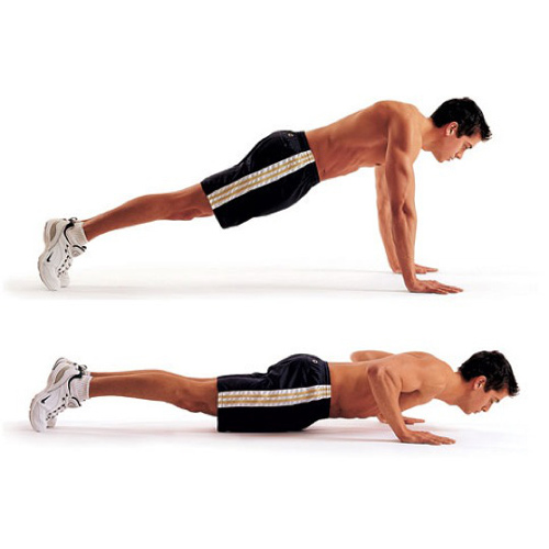 Keep Fit answer: PRESS UP