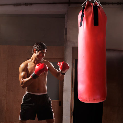 Keep Fit answer: PUNCH BAG