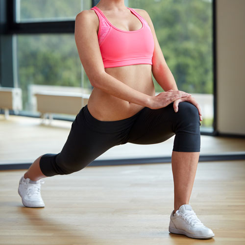 Keep Fit answer: LUNGE