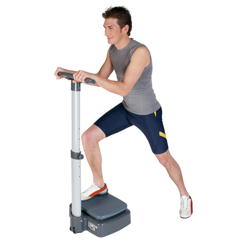 Keep Fit answer: VIBRATION PLATE