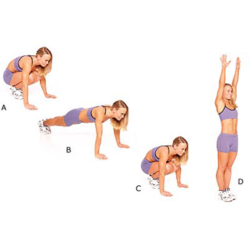 Keep Fit answer: BURPEES
