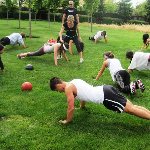 Keep Fit answer: BOOT CAMP