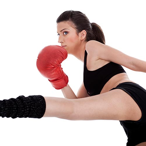 K is for... answer: KICKBOXING