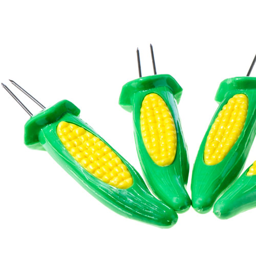 Kitchen Utensils answer: CORN COB SKEWERS