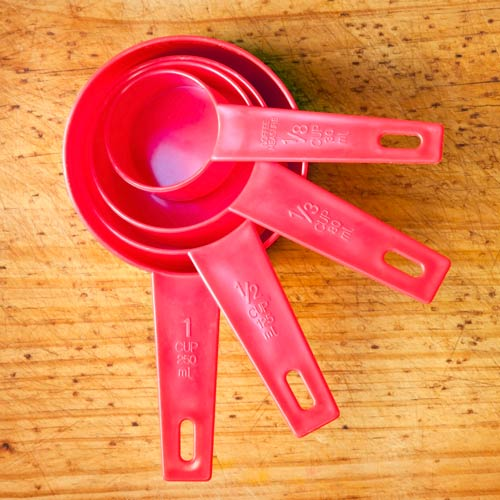 Kitchen Utensils answer: MEASURING CUPS