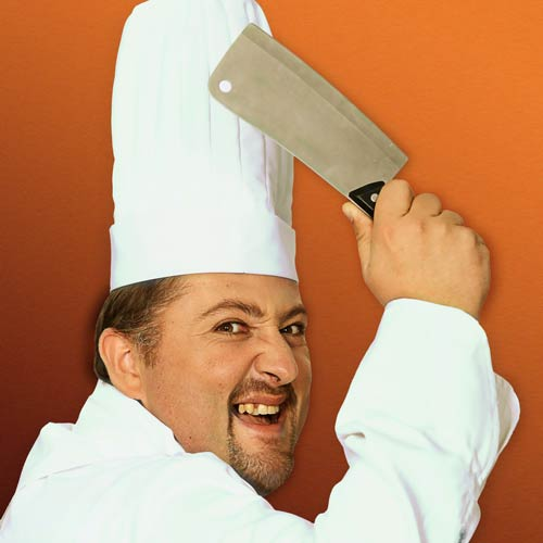 Kitchen Utensils answer: MEAT CLEAVER