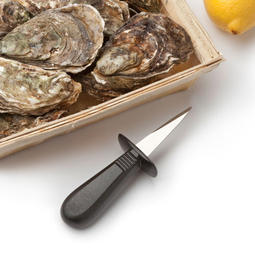 Kitchen Utensils answer: OYSTER KNIFE