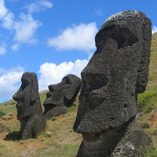 Landmarks answer: EASTER ISLAND