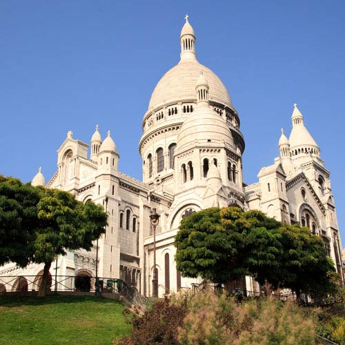 Landmarks answer: SACRE COEUR