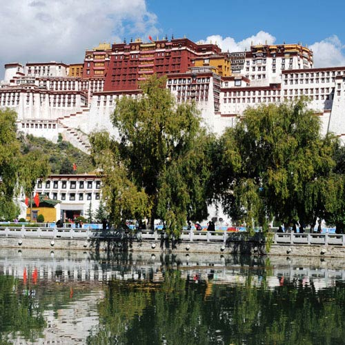 Landmarks answer: POTALA PALACE