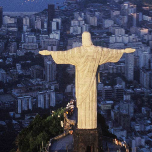 Landmarks answer: CHRIST REDEEMER