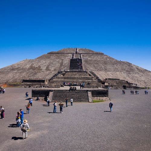 Landmarks answer: TEOTIHUACAN