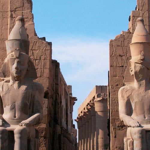 Landmarks answer: TEMPLE OF LUXOR