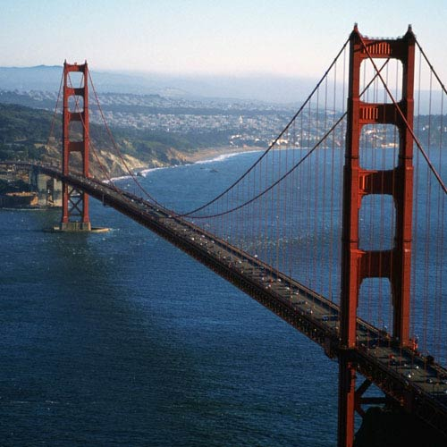 Landmarks answer: GOLDEN GATE