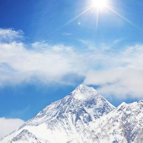 Landmarks answer: MOUNT EVEREST