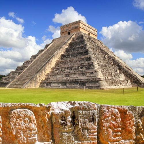 Landmarks answer: CHICHEN ITZA