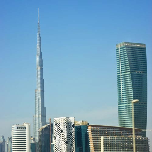 Landmarks answer: BURJ KHALIFA