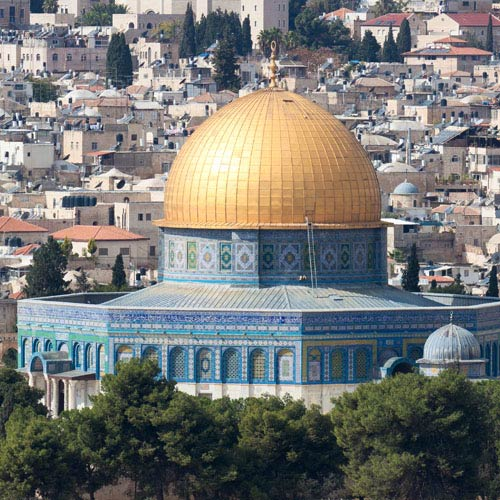 Landmarks answer: AL AQSA MOSQUE