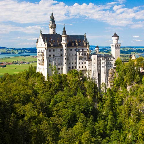 Landmarks answer: NEUSCHWANSTEIN