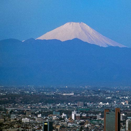 Landmarks answer: MOUNT FUJI