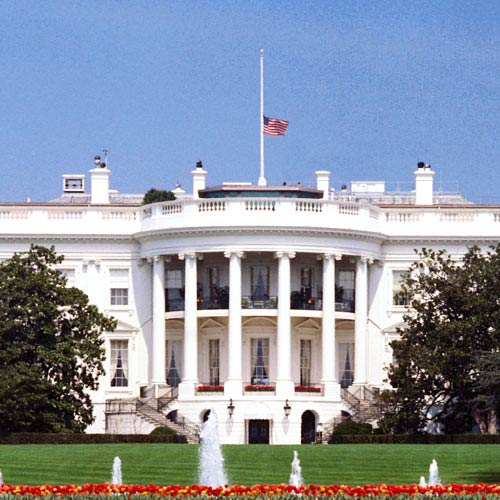 Landmarks answer: WHITE HOUSE