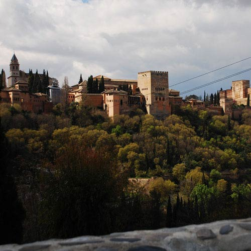 Landmarks answer: ALHAMBRA