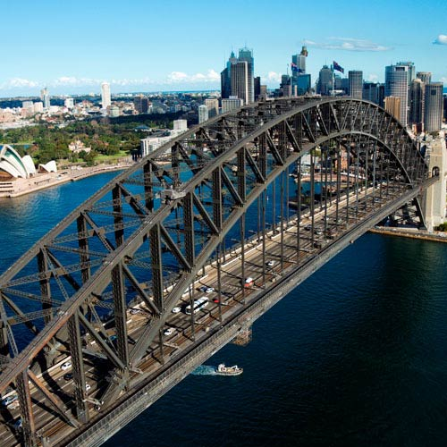 Landmarks answer: HARBOUR BRIDGE