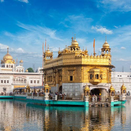 Landmarks answer: GOLDEN TEMPLE