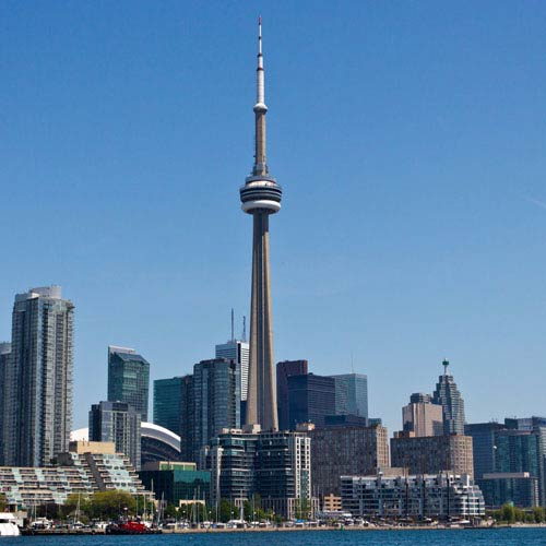 Landmarks answer: CN TOWER