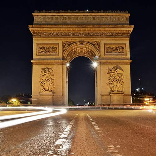 Landmarks answer: ARC DE TRIOMPHE