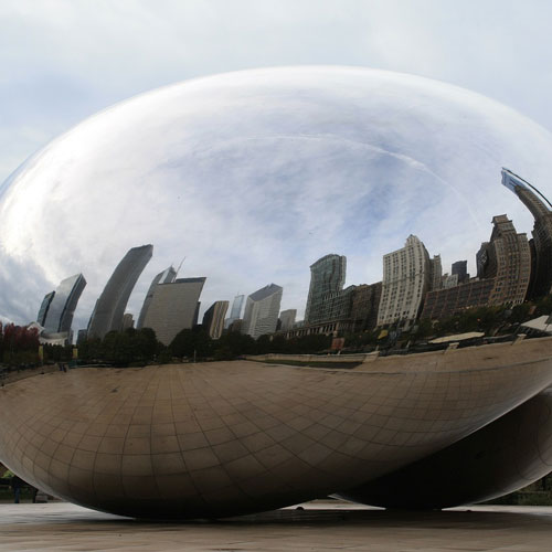 Landmarks answer: CLOUD GATE