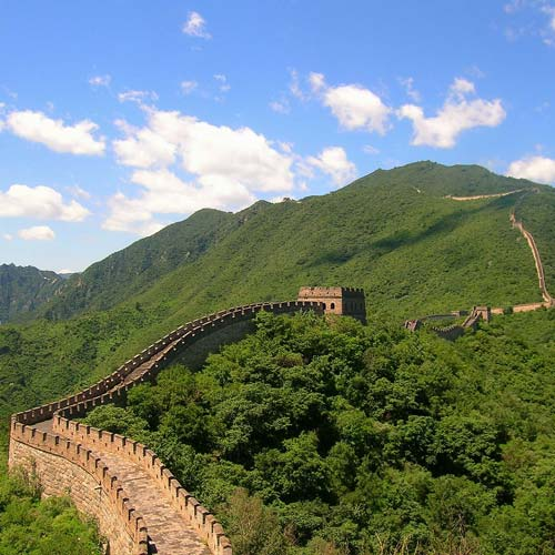 Landmarks answer: GREAT WALL