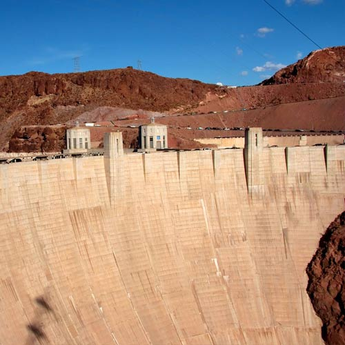 Landmarks answer: HOOVER DAM