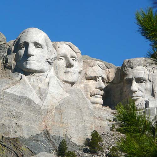Landmarks answer: MOUNT RUSHMORE