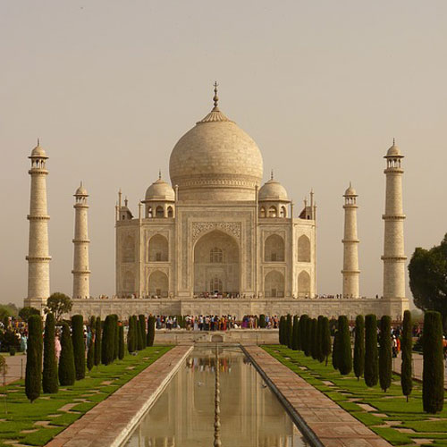 Landmarks answer: TAJ MAHAL