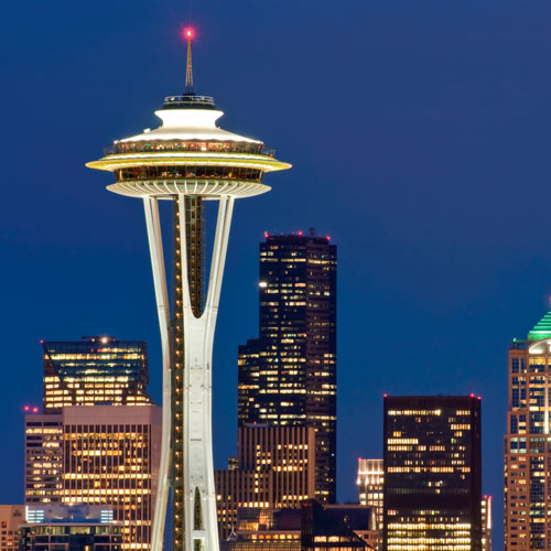 Landmarks answer: SPACE NEEDLE