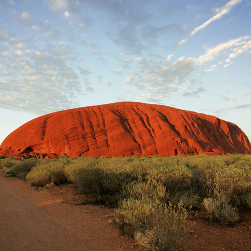 Landmarks answer: AYERS ROCK