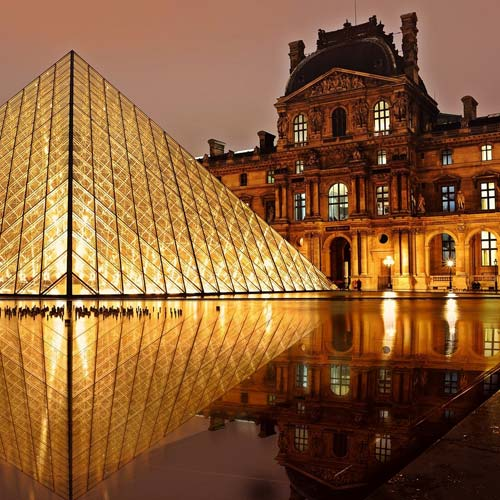 Landmarks answer: LOUVRE