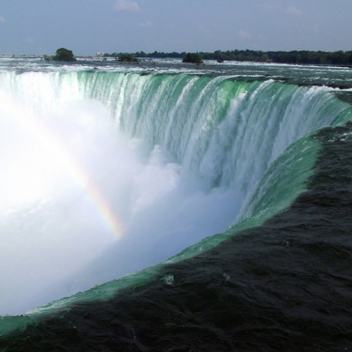 Landmarks answer: NIAGARA FALLS