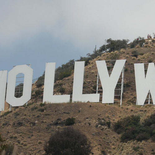 Landmarks answer: HOLLYWOOD SIGN